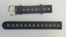BRACELET MONTRE CUIR  marron moyen  10.5CM  X 8CM /* 14 mm REF.DK15