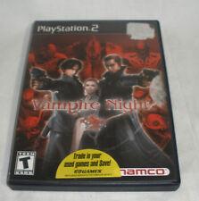 Vampire Night (Sony PlayStation 2, 2001) cib nice condition