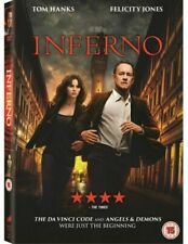 Inferno DVD (2017) Tom Hanks