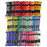 100 Multi Colours CROSS STITCH Cotton EMBROIDERY THREAD  Skeins Floss Kit Sewing