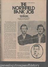 The Northfield Bank Job with The Younger and The James Boys+Clements,Chadwell