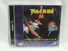 NEW (Read) Raiden II PC Computer Game SEALED (w/ Box Wear) raden 2 shooter 1997