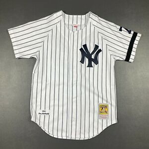 100% Authentic Don Mattingly Mitchell & Ness 1995 Yankees Jersey Size 40 M Mens