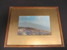 More details for h. w. hicks landscape painting - near princetown, dartmoor - early 20th century