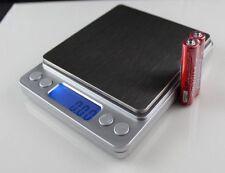 Balance électronique de haute précision numérique de poche mini-500g/0.01g
