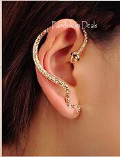 Cubic Zirconia Alloy Cuff Fashion Earrings