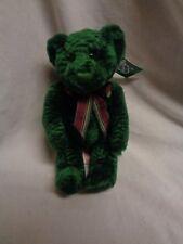 Russ Plush Spearmint Teddy Bear Green NWT