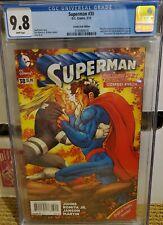 SUPERMAN 38 CGC 9.8 COMBO PACK VARIANT DC COMICS (2015) NEW 52