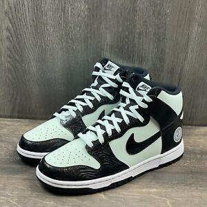 NIKE DUNK HIGH Sneaker Men Sz 8 NBA ALL STAR 2021 BARELY GREEN BLACK DD1398-300