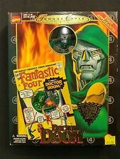 "ToyBiz 1998 Marvel Famous Cover Series Fantastic Four Doctor Doom 8.5"" Figure"