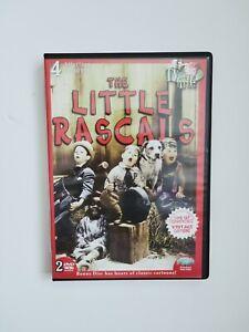 THE LITTLE RASCALS original: 4 episodes (2004) 2 dvds bonus vintage cartoons