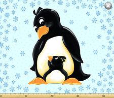 "1 tissu panel-Susybee gwyn le pingouin tissu panneau 36"" x 44"" - 20238-930"