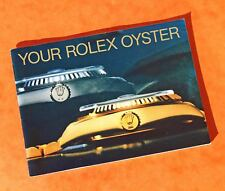 ♛ Authentic Rolex ♛  1986 Oyster Watch Manuals & Guides Booklet