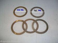 5 Spessori acciaio Pignone Differenziale 55X70mm 8546276-8546281 PER Fiat/iveco