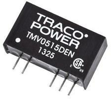 TRACOPOWER TMV0515DEN 1W 3KV Isolated DC-DC Converter, Vin 4.5-5.5V Vout ±15V DC