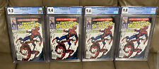 AMAZING SPIDERMAN 361 Newsstand CGC 9.8 9.6 9.4 & 9.2 1st Carnage Investment Lot