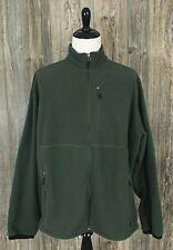 Gander Mountain Fleece Full Zip Men's Size 3Xl Tall~Green Polyester~Zip Pockets
