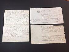 RARE Manuscript Document LOT 1829 SNOW  Family SCHOONER Maria Thomaston Maine ME