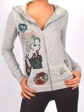 L Damen-Pullover & -Strickware mit Rundhals-Ausschnitt ohne Muster