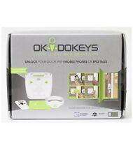 New, OKIDOKEYS Smart-Reader For Smart Lock Access with 3 Tags