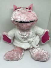 """7.5"""" Rainbow George The Pink Hippo Soft Toy Plush Teddy Rare  The Tv Show"""