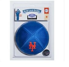 New York Mets MLB Licensed Pro Kippah w/ Built In Clip Yamaka Yarmulke