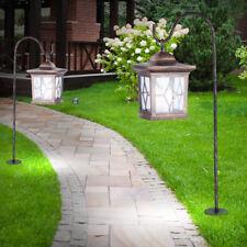 2 x lampe solaire DEL borne à piquer lanterne jardin LED éclairage métal cuivre