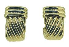 Classic TURI 18K Yellow Gold Earrings