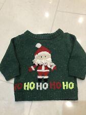 Boys Next christmas jumper 6-9 months