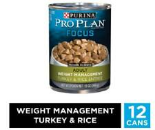 Purina Pro Plan FOCUS Weight Management Adult Canned Wet Dog Food 13oz (12 Pk)