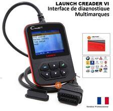 Valise Diagnostic LAUNCH CREADER 6 VI  en Français - AUTO Valise DIAG COM OBD2