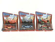 Disney Pixar Cars 2 - Lightning McQueen - Finn McMissile - Francesco Bernoulli