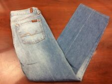 7 For All Mankind Womens Jeans Distressed Bootcut Medium 38 Actual 31x31 USA!
