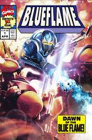 🚨🔥 BLUE FLAME #1 LAREN 616 Exclusive Darkhawk #1 Homage Variant LTD 500 COA