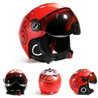 MOON Professional Ski Helmet Half-covered CE Certification Integrally-molded