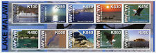 Malawi 2014 MNH Lake Malawi 10v M/S Tourism Landscapes Ships Eagles Birds Stamps