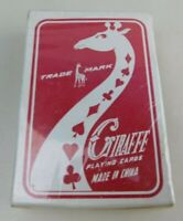 Vintage 600 Giraffe Playing Cards Sealed Cards Sealed