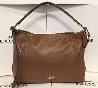 Coach 34312 Saddle Pebbled Leather Scout Convertible Shoulder Bag