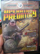 HS Johnny Stewart Wildlife Calls Hunting DVD Video / Operation Predator 9