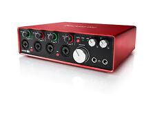 Focusrite Scarlett 18i8 2nd Gen 24/192khz USB Audio Interface USED