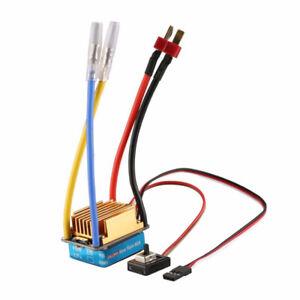 60A Electronic Speed Controller Brushed Brush ESC For 1/10 RC Car Crawler Toy UK