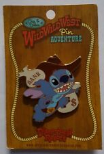 Disney Pin Chip & Dale's Wild West Pin Adventure Stick 'Em Up Stitch Le 1000