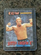 JUSTIN CREDIBLE Rare ECW OSFTM Trading Card Sticker WWE
