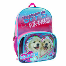 NWT Fashion Dog Pink Blue and Purple Backpack & Lunch Tote Set NEW