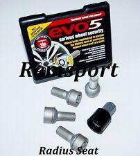 EVO 5 verrouillage boulon de roue rayon pour Mercedes Classe E 03 -