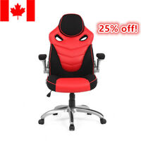 Moustache® High Back Racing Car Style Bucket Seat Office Desk Chair Gaming Chair