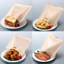 2Pcs Useful Reusable Non Stick Toaster Bags Toastie Sandwich Bread Toast Pockets