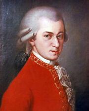 Wolfgang Amadeus Mozart 10x8 Foto