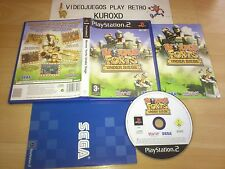 PLAY STATION 2 PS2 WORMS FORTS UNDER SIEGE COMPLETO PAL ESPAÑA
