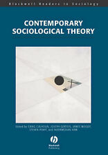 """VERY GOOD"" Contemporary Sociological Theory (Wiley Blackwell Readers in Sociolo"